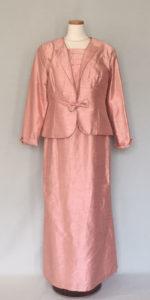 色留袖と同格のアフタヌーンドレス、大きいサイズ、