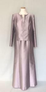結婚式の母ドレス、叙勲のアフタヌーンドレス
