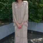 欧米のマザードレス・スタイルの花嫁の母