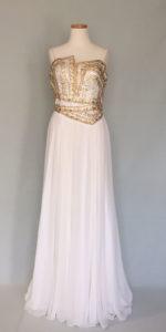 ハリウッドの女優ドレス
