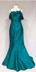 豪華な張りのあるタフタ地、女優ドレス
