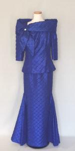 綺麗な色とラインのマザードレス