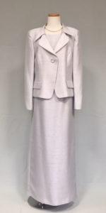 シルバーシャンタンの母親ドレス