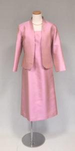 叙勲式典向けシルクのアフタヌーンドレス