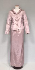 叙勲の洋装ドレス、ペールピンク