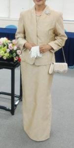 色留袖に同格の洋装フォーマル
