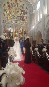 花嫁の母 教会